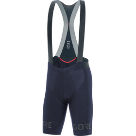 GORE WEAR C7 Long Distance Bib Shorts Herre orbit blue